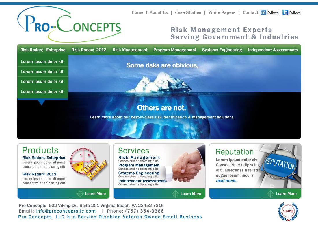 Pro-Concepts Website Comprehensives